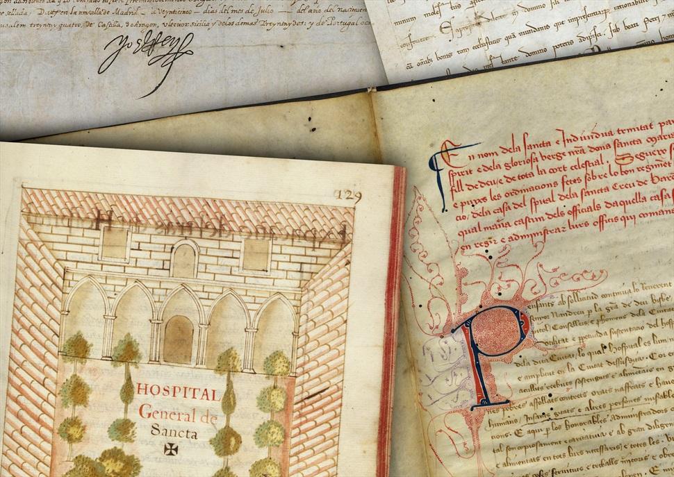 Visita guiada exclusiva a l'arxiu històric del Recinte Modernista de Sant Pau