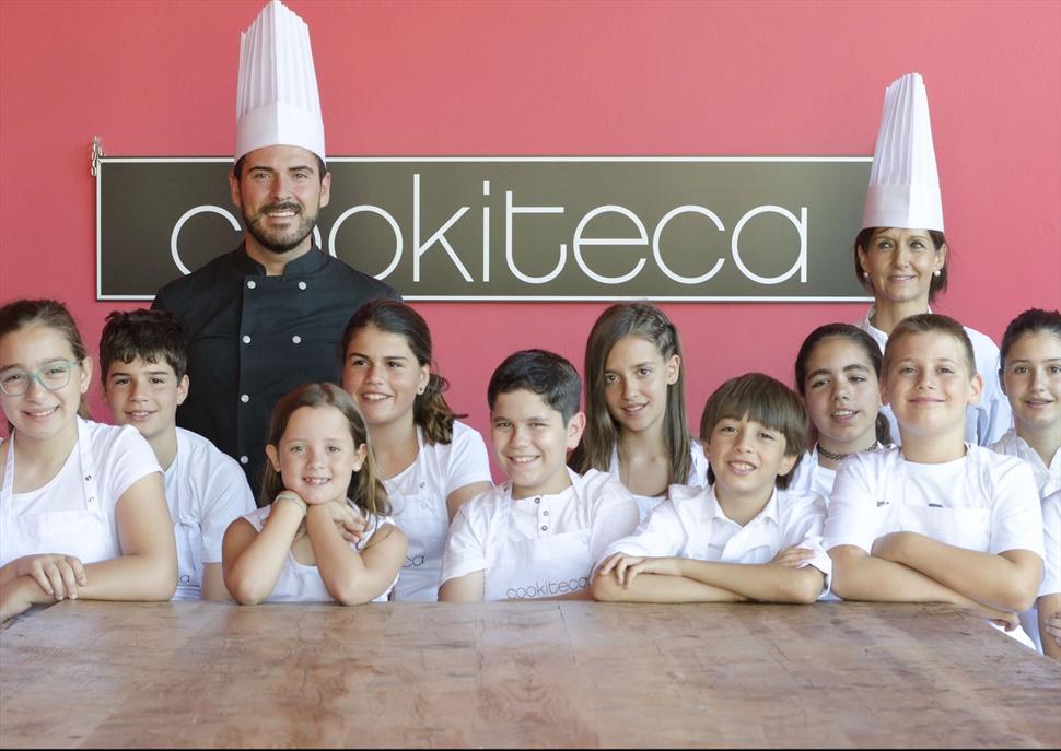 Casal d'estiu infantil de cuina amb Cookiteca
