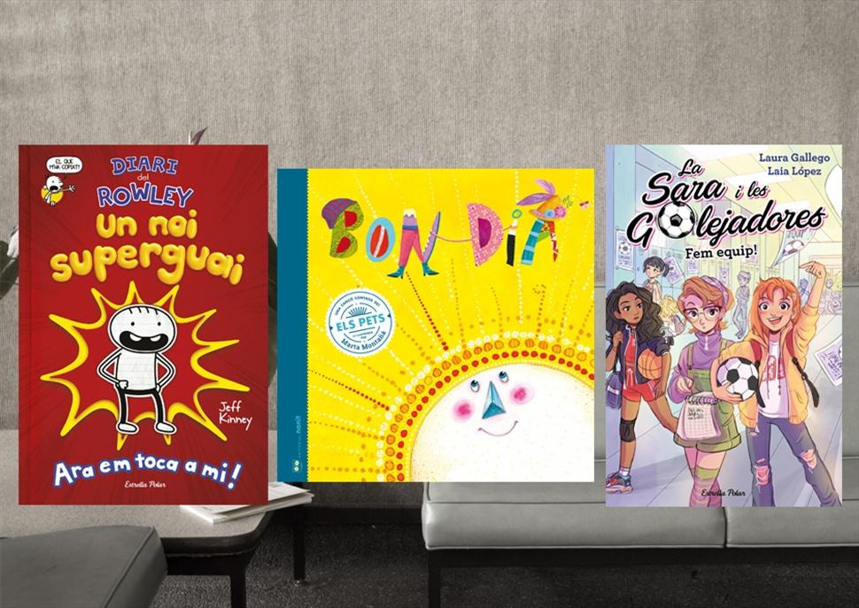 Llibres: Bon dia, Diari d'en Rowley i Sara i les golejadores