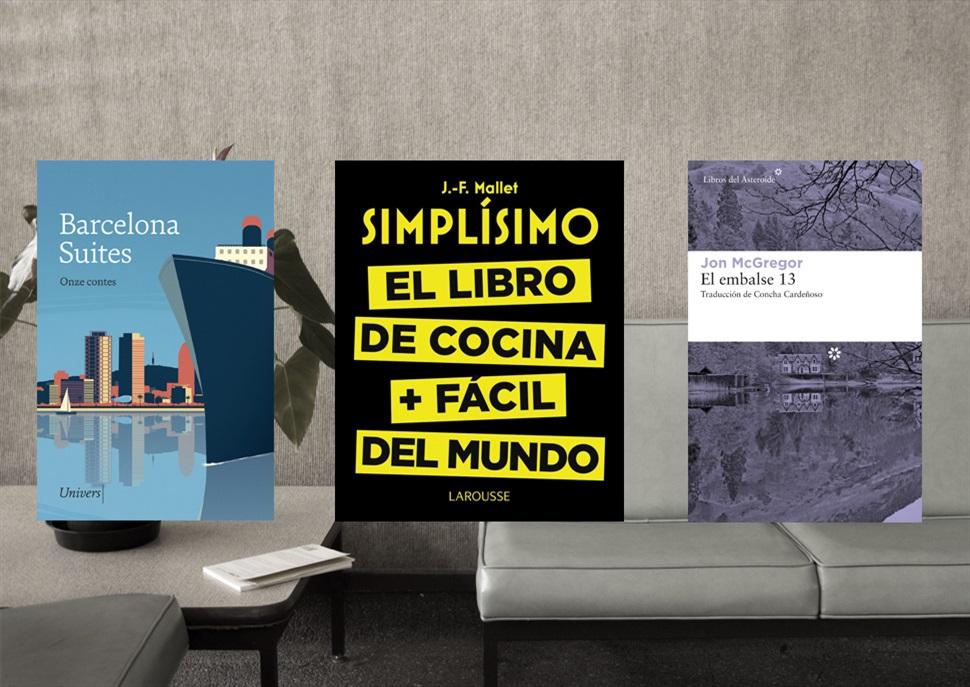 Llibres: Barcelona Suites, Simplísimo, El embalse 13