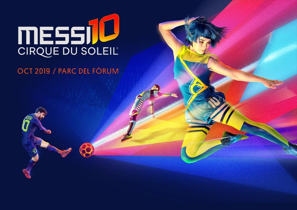 FES CLUB Messi 10 by Cirque du soleil