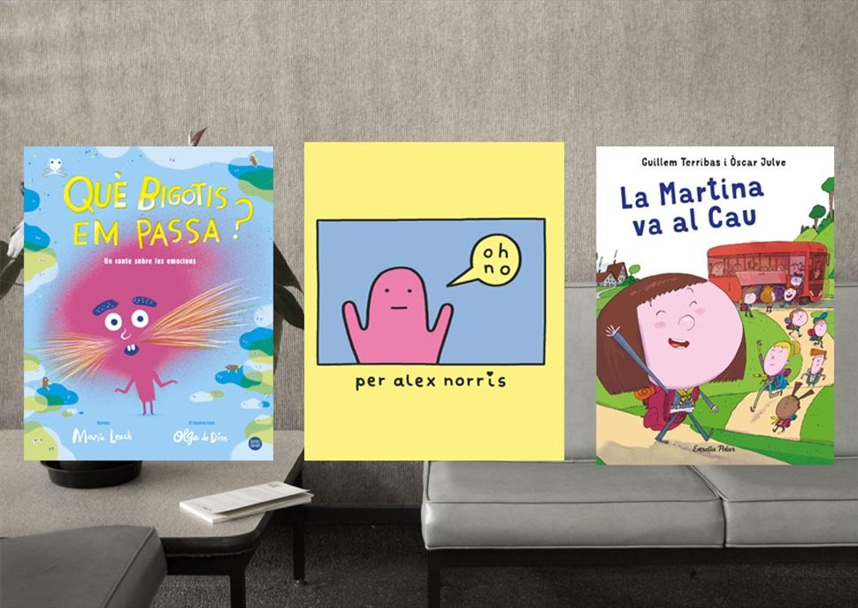 Llibres: Què bigotis em passa?, La Martina va al cau, Oh No!