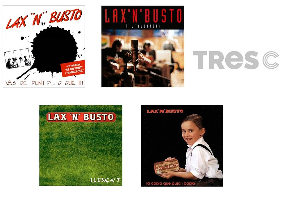 PACK CD: LAX N' BUSTO 4 CD