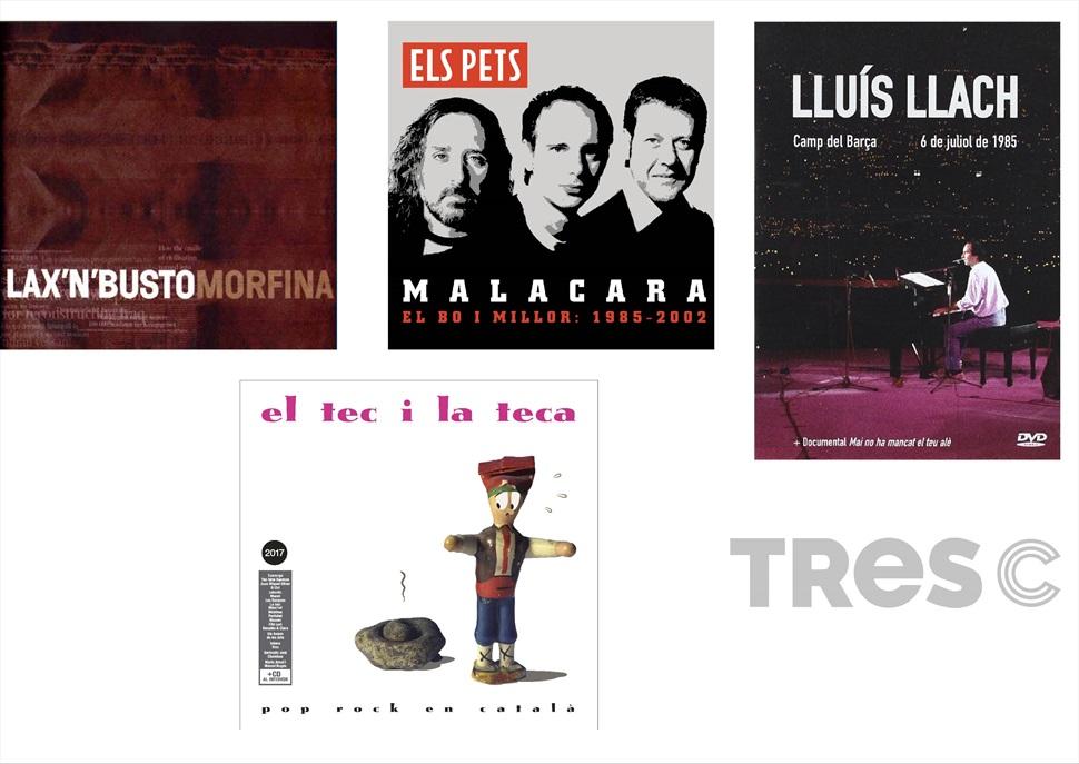 PACK CD:  LLACH + ELS PETS+ LAX N BUSTO+ VARIAT TEC I TECA 2017