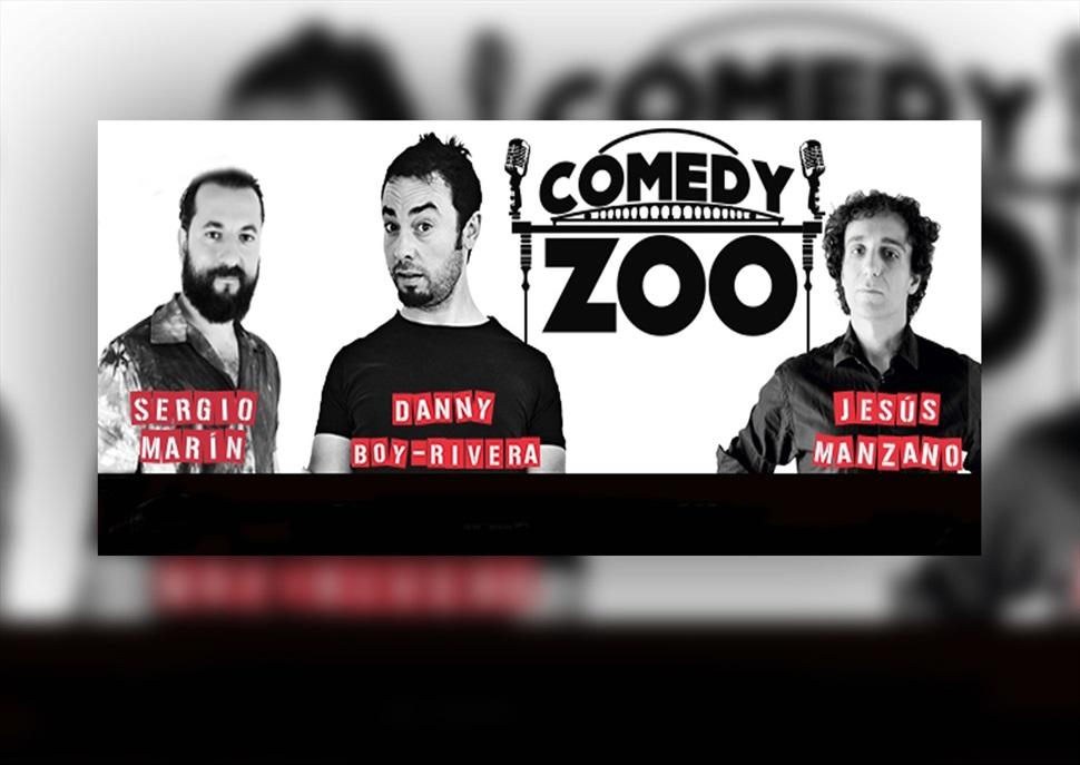 Comedy Zoo amb Sergio Marín, Dani Boy-Rivera i Jesús Manzano