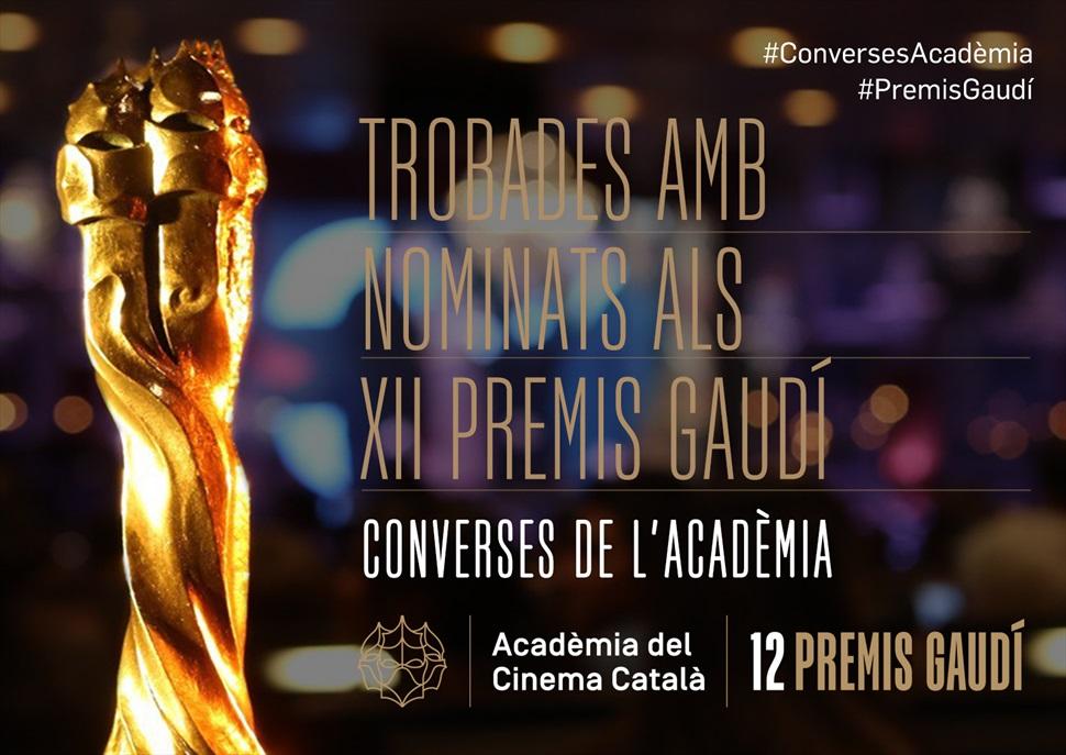Trobades amb nominats als XII Premis Gaudí