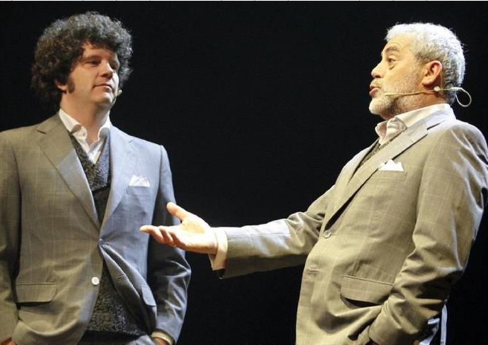 Carlos Blanco y Xosé Touriñán