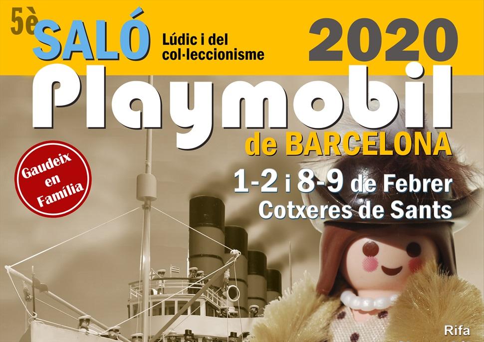 5È Saló lúdic i del col·leccionismes de Playmobil