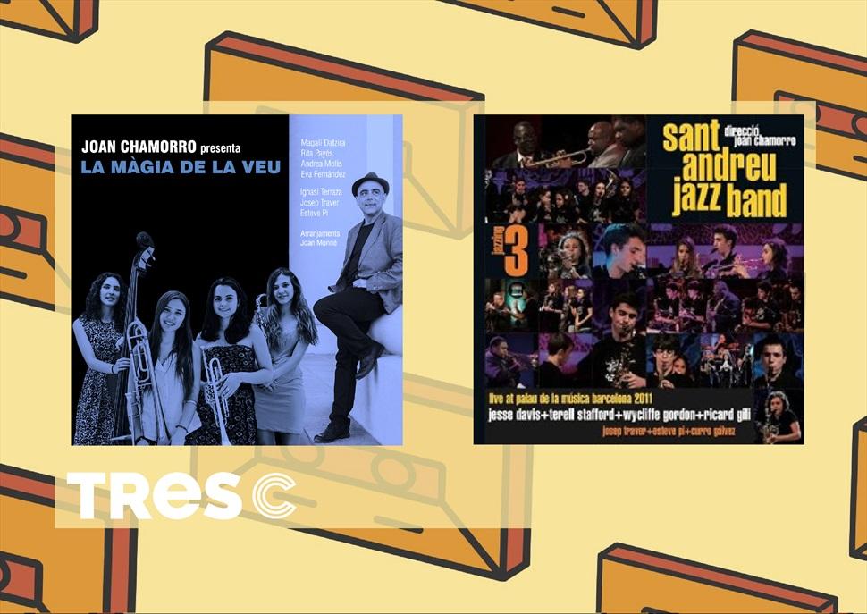 PACK 2 CD+ DVD +LLIBRE SANT ANDREU JAZZ BAND + JOAN CHAMORRO - LA MAGIA DE LA VEU