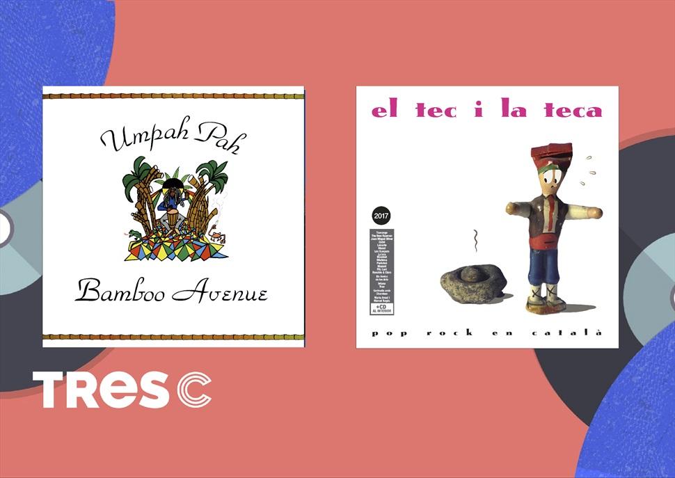 Pack vinils : 3 vinils i 1 cd : UMPAH-PAH -Bamboo avenue- EL TEC I LA TECA 2017 doble vinil
