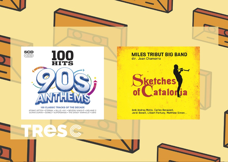 PACK CD: 100 HITS 90 s ANTHEMS + MILES DAVIS TRIBUT big band (JOAN CHAMORRO)