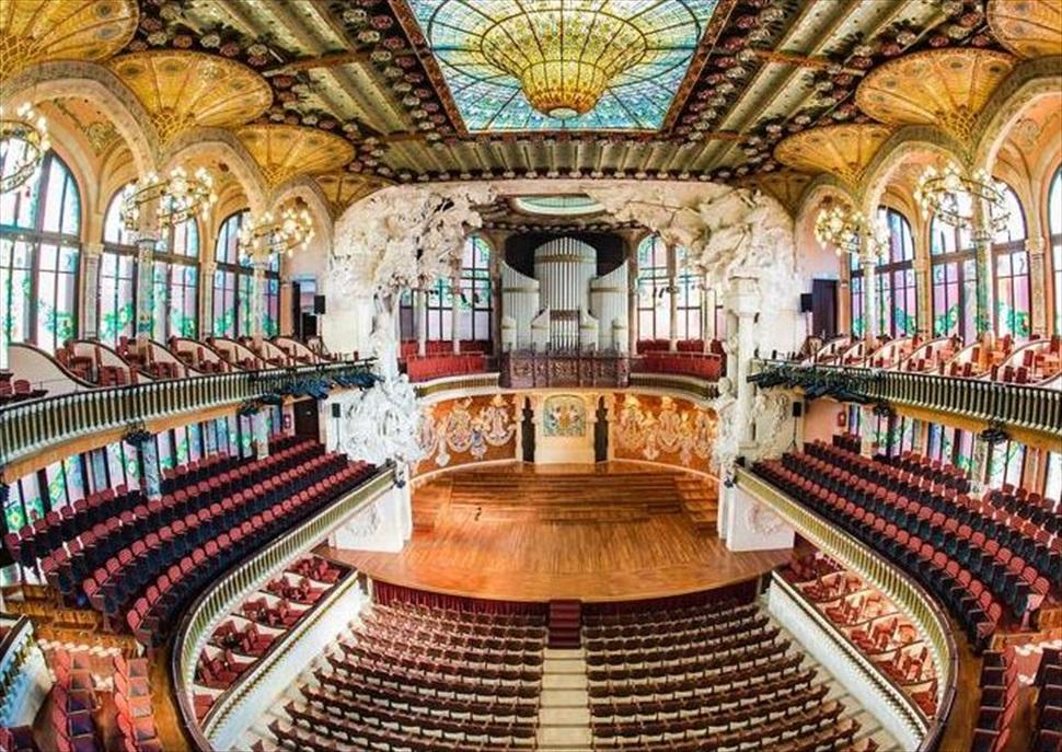 Visita Guiada al Palau de la Música