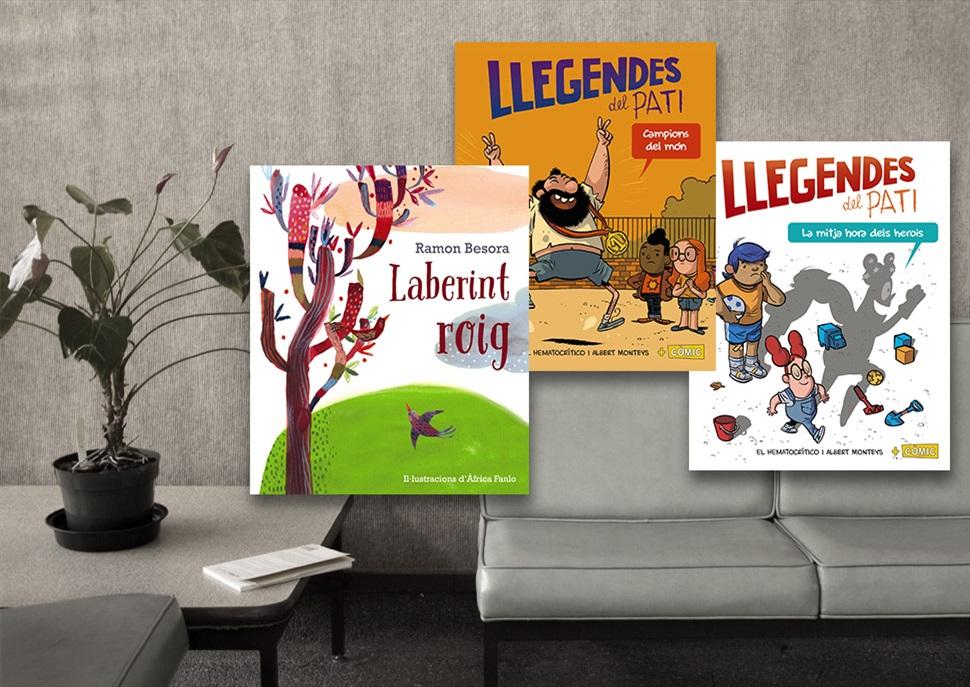 Llibres: Laberint roig, Campions del món, La mitja hora dels herois
