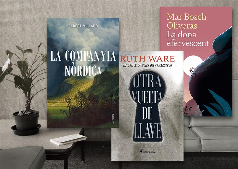 Llibres: La dona efervescent, Otra vuelta de llave, La companyia nòrdica