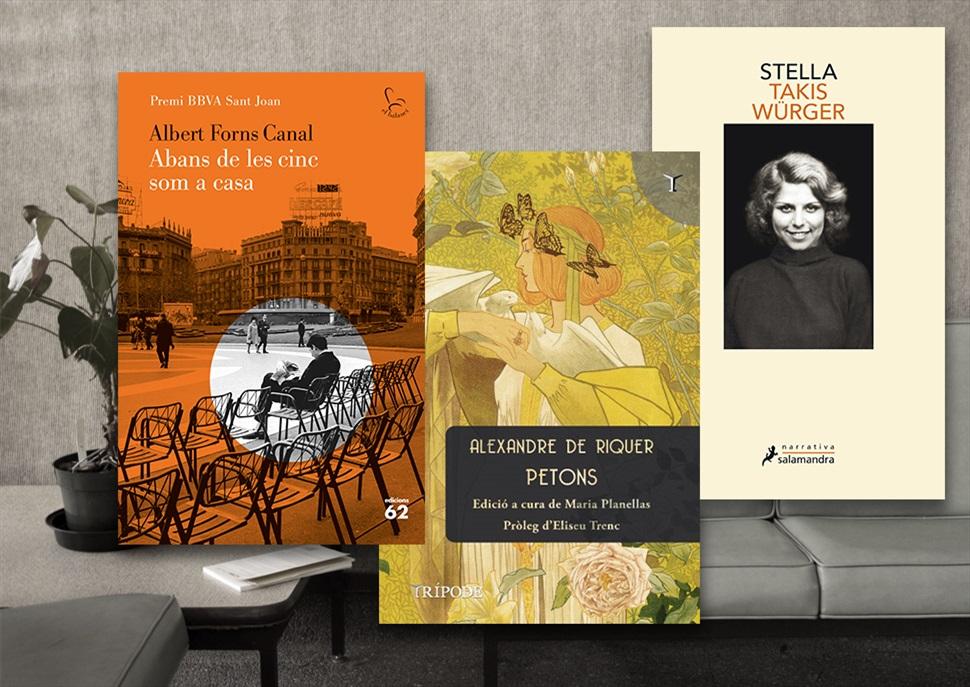 Llibres: Petons, Abans de les cinc som a casa, Stella