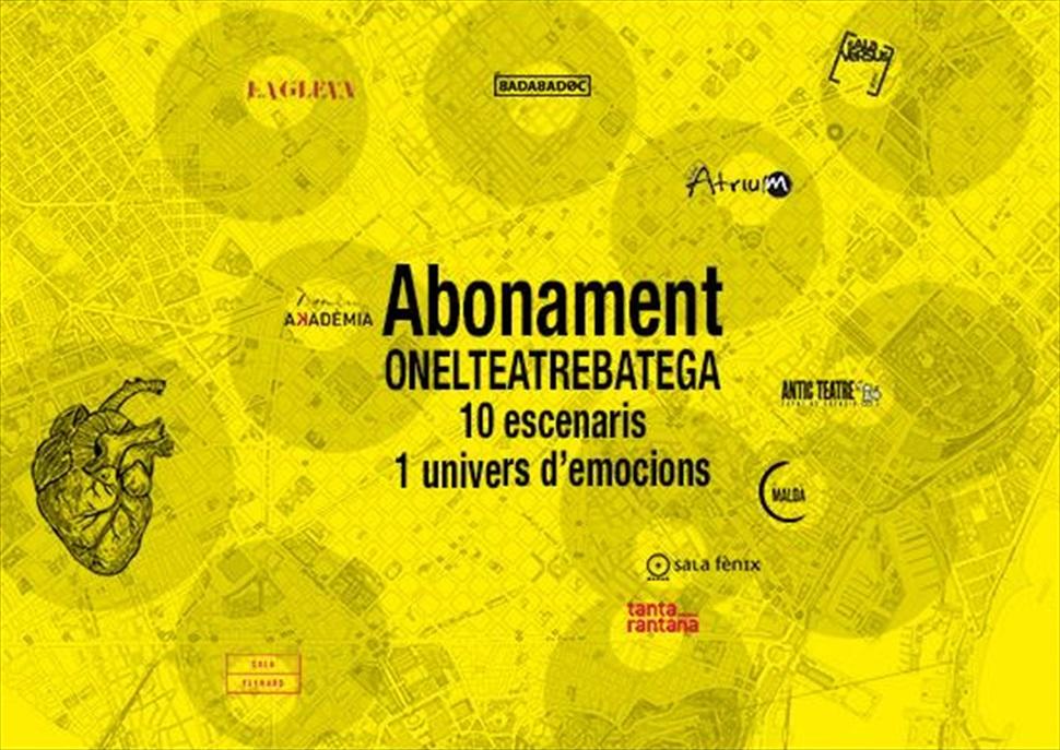 Abonament - Teatres de Proximitat