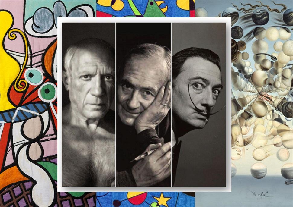 Endinsa't al món de... Picasso, Dalí i Miró