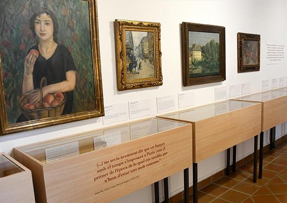 """Visita guiada """"De Palafrugell a París, 1913-1925. Josep Pla i els artistes, una mirada literària"""""""