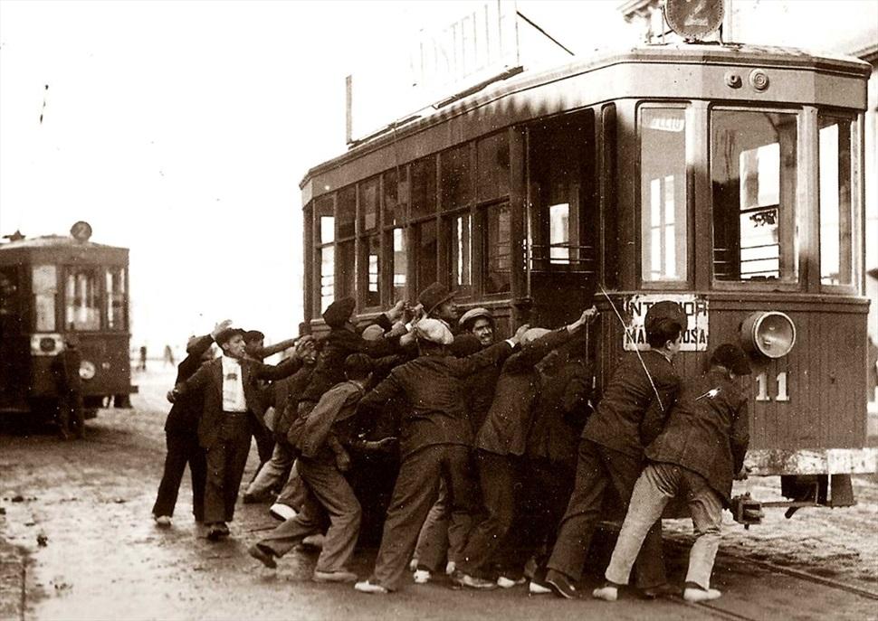 Itinerari la vaga de tramvies
