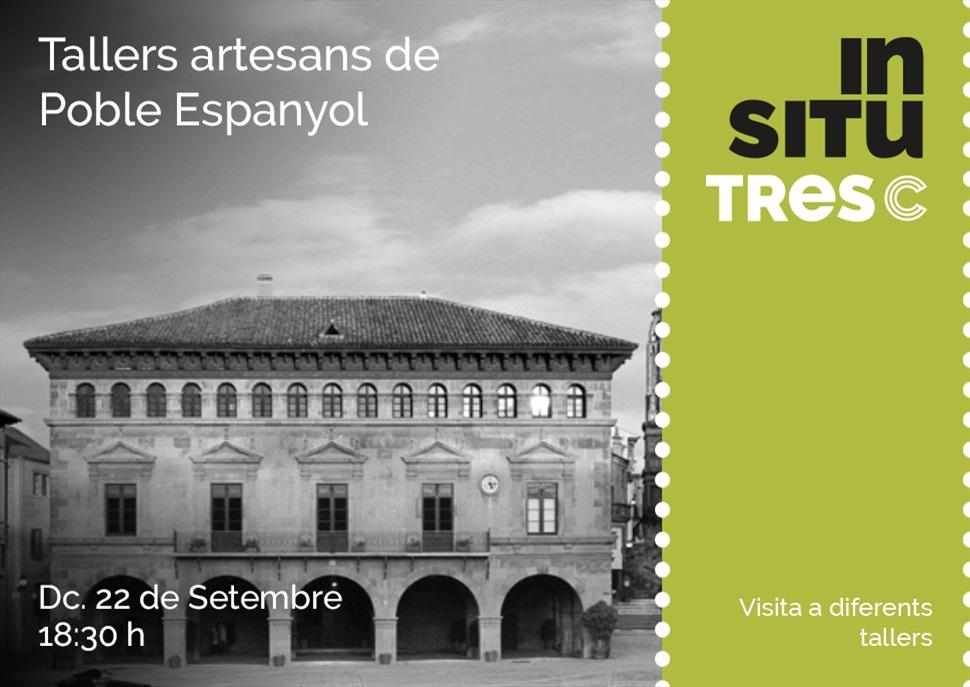 INSITU Tallers Artesans Poble Espanyol